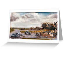 106 Sqdn bomb up (Admiral Prune) Greeting Card