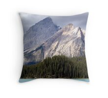 Mountain Colours Throw Pillow