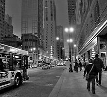 Downtown Stroll by Sue  Cullumber
