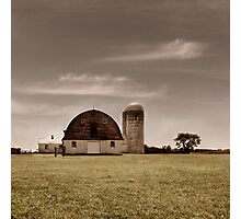 Dry Earth Crumbles Between My Fingers and I Look to the Sky for Rain Photographic Print
