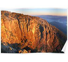 The Gorge, Mount Buffalo, Australia Poster