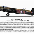 Avro Lancaster B1 Profile by coldwarwarrior