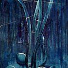Blue poppies by Diana Davydova