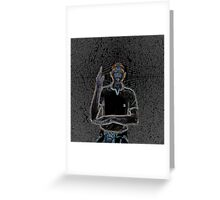 """""""A person of color"""" Greeting Card"""