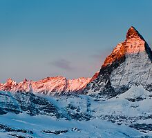 Matterhorn at sunrise by peterwey
