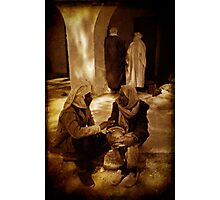 Double conversation Photographic Print