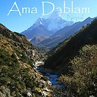 Ama Dablam by Richard Heath