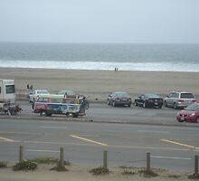 Groovy Hippie VW Bus in San Francisco, California by kristalmania