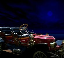 """1910 Stanley Model 62 Touring Car """"The Shinning""""  by TeeMack"""