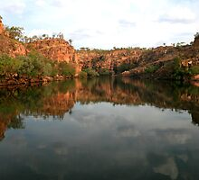 Stillness - Nitmiluk Gorge, Katherine, NT by Lynda Harris