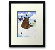 Bearily, Bearily, Bearily... Life Is But A Dream... Framed Print