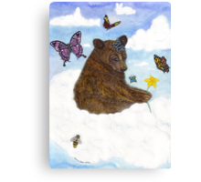 Bearily, Bearily, Bearily... Life Is But A Dream... Canvas Print