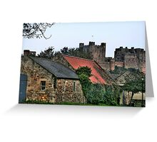 """""""Of Castles and Cottages"""" Greeting Card"""