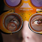 eye as a lens - steampunk variations - detail perspective by dennis william gaylor