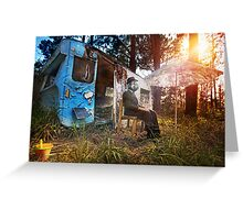 Mobile Disco Greeting Card