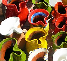 Jugs of Colour by David Bradbury