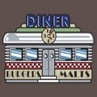 Vintage T-Shirts Restaurant by Vintage Retro T-Shirts