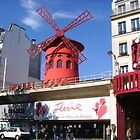 Moulin Rouge by Carol Dumousseau