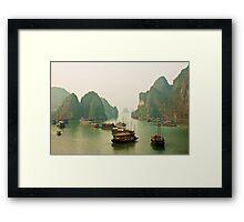 Ha Long Bay Framed Print