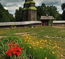 Ukrainian village by Anton Gorlin