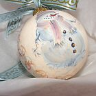 handpainted ornament snowman by cicalese653