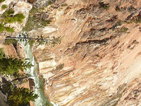 Yellowstone National Park Grand Canyon, Arizona. by Mywildscapepics