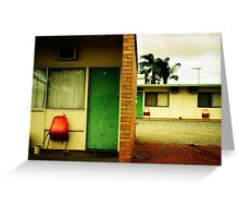 Motel Moribundity Greeting Card