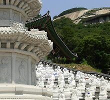 Bumunsa Temple, South Korea by Shanna Underwood