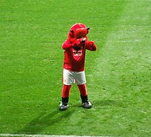 Old Trafford Red Devil by wheelmittens