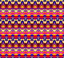 Festival Fabric Design by jenny meehan