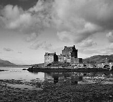Moody Eilean Donan by Claire Tennant