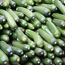 Market Series - Z is for Zucchini by Christine Oakley