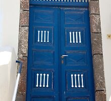 Blue Door Cutouts by phil decocco