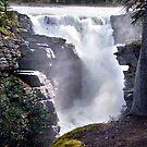 Athabaska Falls(2) by George Cousins