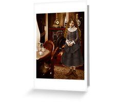 Victoriana II Greeting Card