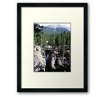 A Wilderness Bridge Framed Print
