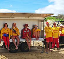 Jan Juc SLSC patrol by Andy Berry