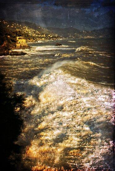 Stormy sea by Silvia Ganora