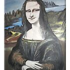Mona Lisa by coneillart