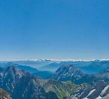 Zugspitze Panorama by Owen Zammit
