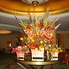 Floral Arrangement, Beverly Hills Hotel by kristalmania
