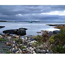 Blue Rocks-Late Autumn Photographic Print