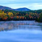 Blue Fall Morning by MPICS