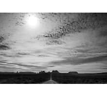 Road to Monument Valley Photographic Print