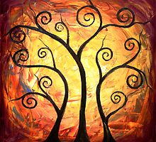 The Trees of Power by Abstract D'Oyley