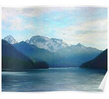 """Approaching Whistler  (2009)   - 45""""x36"""" max print size Poster"""