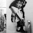 Jimi Hendrix - Toronto, Canada, exterior mural  (2003) by John Fraser