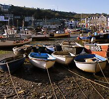 Cornwall: Ropes 'n Boats at Mevagissey by Rob Parsons