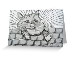 224 - MITCH (STYLISED) - DAVE EDWARDS - INK - 2009 Greeting Card