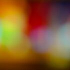 Abstract blurred background by retouch